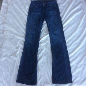 Joe's Jeans Wide Leg Trouser/Jeans long inseam